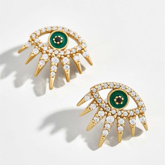 Atrai Eye Earrings