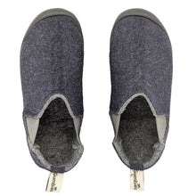 Load image into Gallery viewer, Gumbies Brumby Slipper Boot Navy & Grey