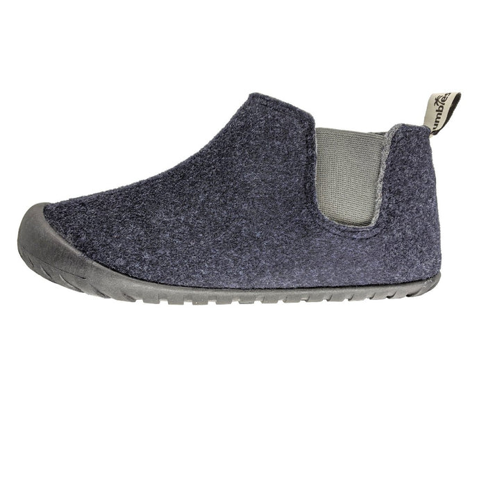 Gumbies Brumby Slipper Boots Navy and Grey