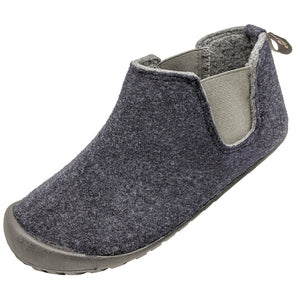 Gumbies Brumby Slipper Boot Navy & Grey