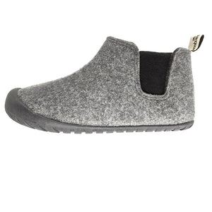 Gumbies Brumby Slipper Boots Grey and Charcoal