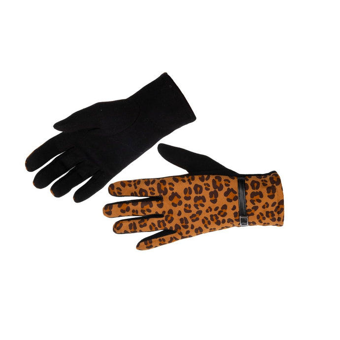 Women's Gloves Animal Print Cheetah