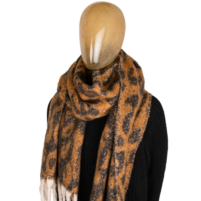 Blanket Scarf Animal Print Tiger