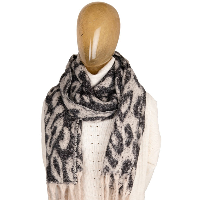 Blanket Scarf Animal Print Leopard