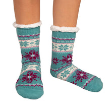 Load image into Gallery viewer, Thermal Socks Nordic Teal