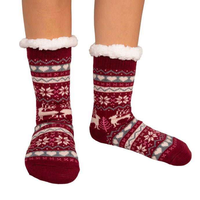 Thermal Socks Nordic Cherry