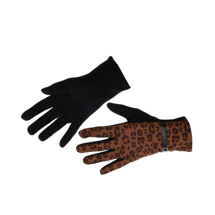 Women's Gloves Animal Print Leopard