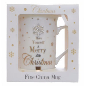 MAD DOTS CHRISTMAS MUG