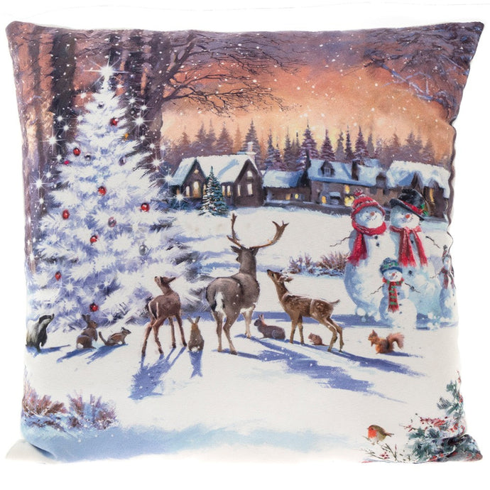 MAGIC OF CHRISTMAS CUSHION LED