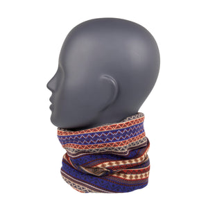 Neck Warmer Blue/Cream/Red South American
