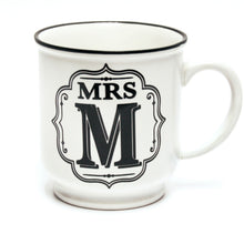Load image into Gallery viewer, Alphabet Mug - Mrs