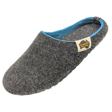 Load image into Gallery viewer, Gumbies Outback Slippers Charcoal and Turquoise