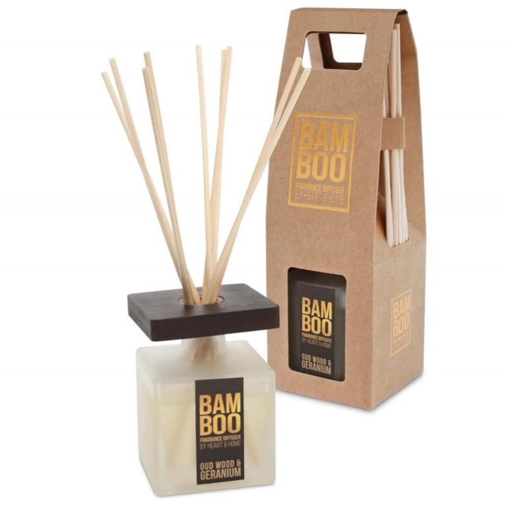 Fragrance Diffuser Oudwood & Geranium