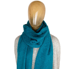 Load image into Gallery viewer, Blanket Scarf Plain Teal