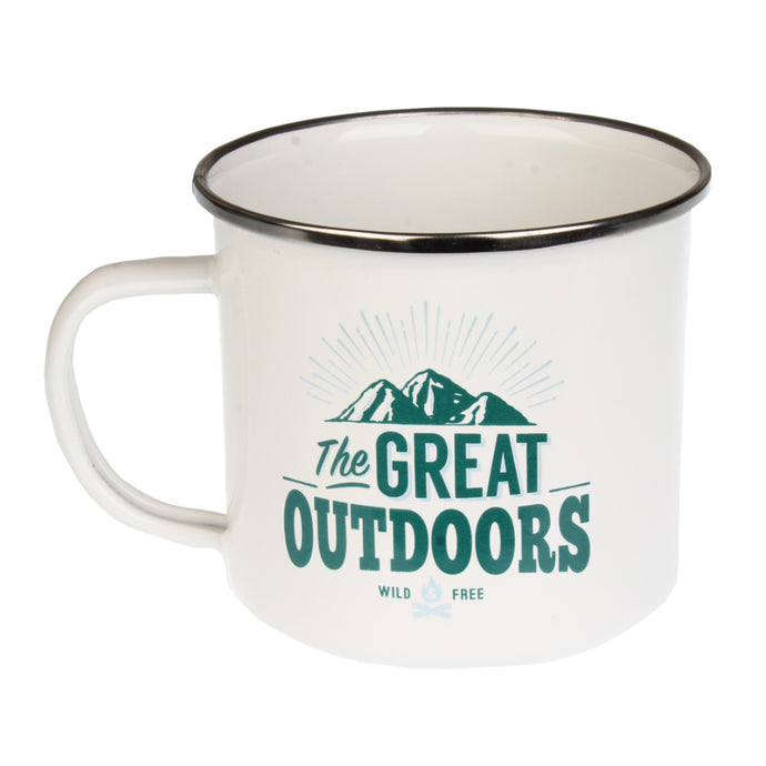 The Great Outdoors Enamel Mug