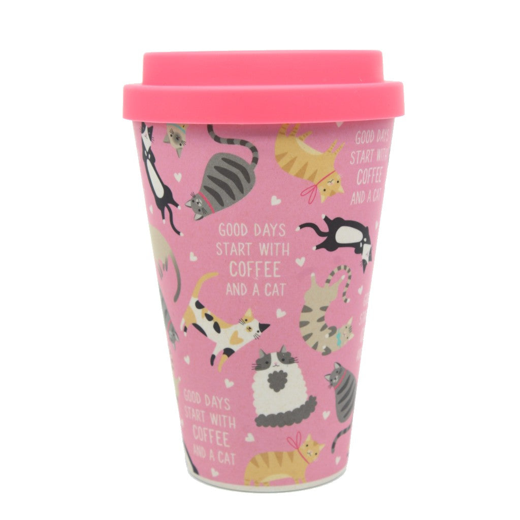 Bamboo Eco Cup Cats