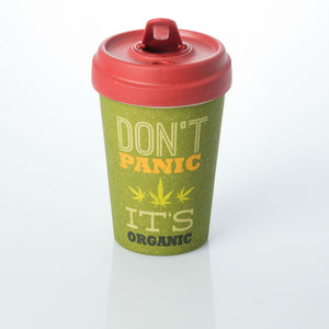 Don't Panic It's Organic Bamboo Travel Mug