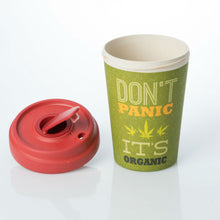 Load image into Gallery viewer, Don't Panic It's Organic Bamboo Cup