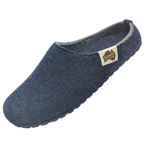 Gumbies Outback Slippers Navy and Grey