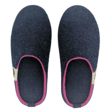 Load image into Gallery viewer, Gumbies Outback Slipper Navy and Pink