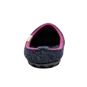 Gumbies Outback Slippers Navy and Pink