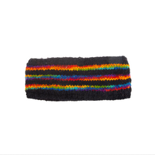Load image into Gallery viewer, Himalayan Knitted Headband Rainbow