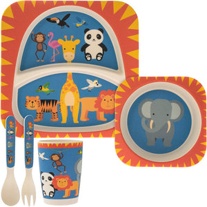 Jungle Bamboo Eating Set