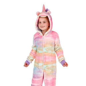 Kids Unicorn Multi-Coloured Onesie