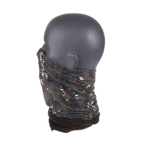 Men's Neck Warmer Camo Squares