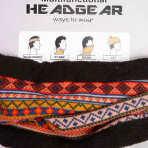 Neck Warmer Grey/White South American