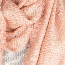 Load image into Gallery viewer, Scarf Textured Stripe Pink