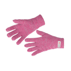 Women's Thinsulate Marl Effect Gloves Pink