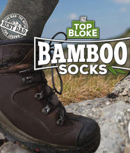 Load image into Gallery viewer, Top Bloke Bamboo Socks (Names)