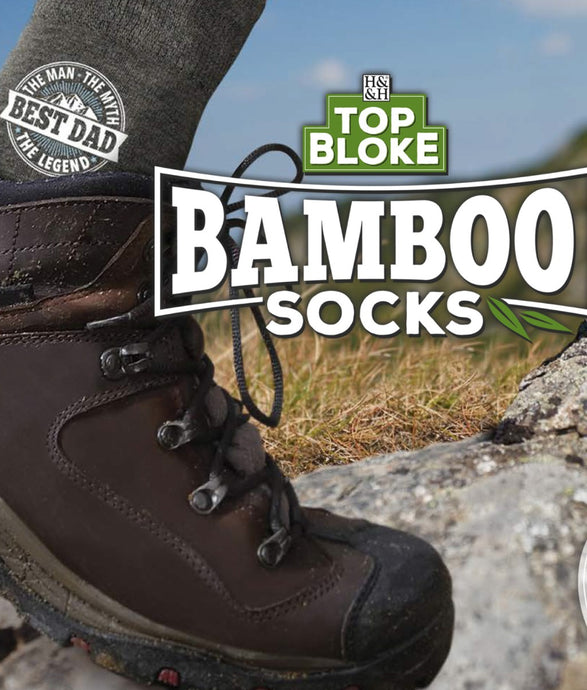 Top Bloke Bamboo Socks (Names)