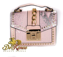 Load image into Gallery viewer, Snaked Crossbody Handbag - Pinky