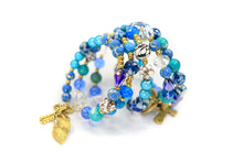 Load image into Gallery viewer, Handmade - Treasured Sea Wrap Bracelet