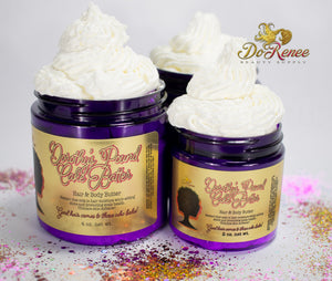Dorothy's Pound Cake Batter - Handmade Whipped Hair & Body Butter (2oz/4oz)