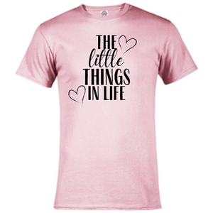 Short Sleeve T-Shirt - The Little Things