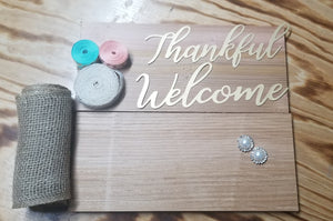 Live Craft Kit - Welcome