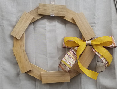 Live DIY - Rectangle -  12  Piece Wreath