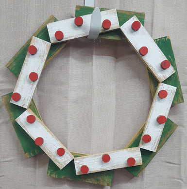 Live DIY Wreath- Circles