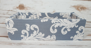 Grey and White Pattern Wood Products