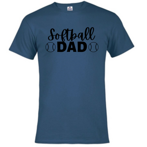 Short Sleeve T-Shirt - Softball Dad