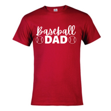 Load image into Gallery viewer, Short Sleeve T-Shirt - Baseball Dad