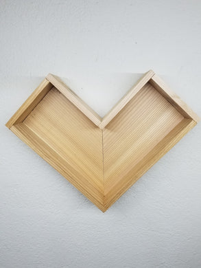 Heart / Arrow Shadow Box