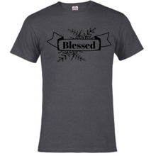 Load image into Gallery viewer, Short Sleeve T-Shirt - Blessed