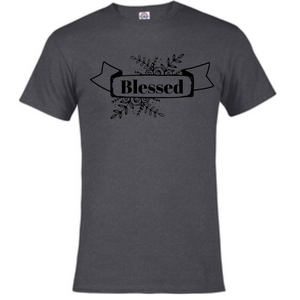 Short Sleeve T-Shirt - Blessed