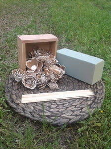6 inch Center Piece Box- Craft Kit