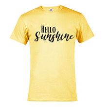 Load image into Gallery viewer, Short Sleeve T-Shirt  - Hello Sunshine