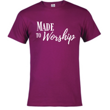 Load image into Gallery viewer, Short Sleeve T-Shirt - Made to Worship